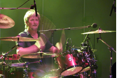 David Lauser on drums.