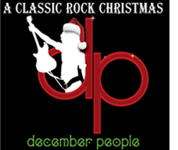 The cover for the fourth December People album titled A Classic Rock Christmas.